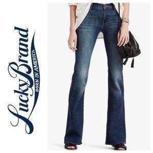 Lucky brand retro Olivia flare denim jeans